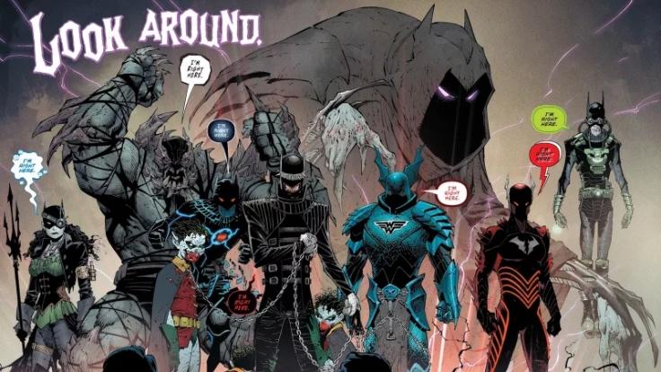 Los siete Batmans Malignos